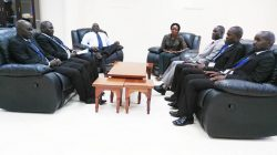 KIBU Drivers Pays Courtesy Call to the Vice Chancellor