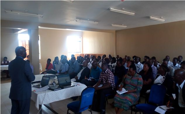 KIBU Staff Training on EU Research Funding Opportunities