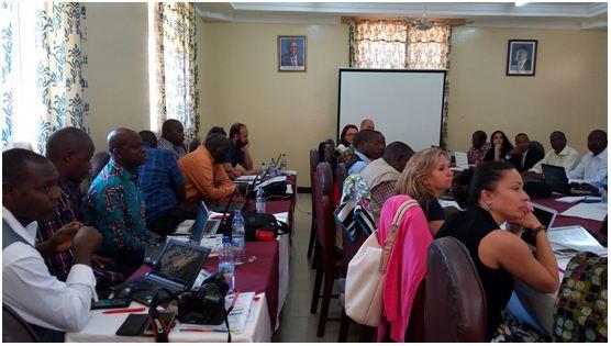 KIBU at AHEAD Project Management Meeting
