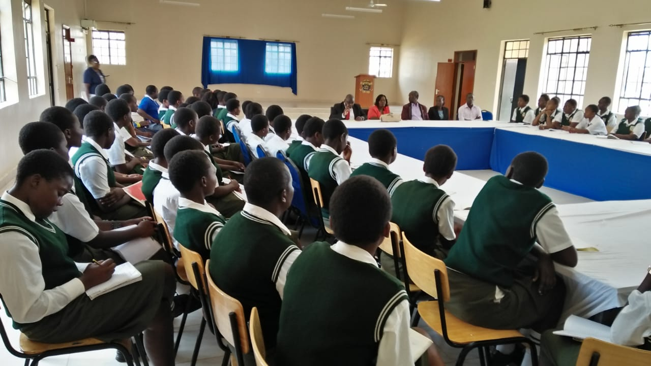 Mentorship Session of St Beda Nyaya and Eluuya Girls