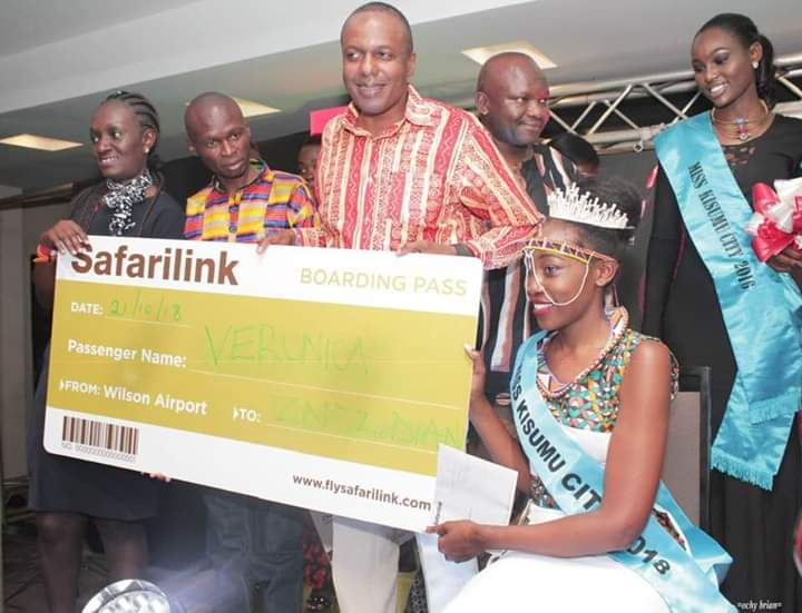 Miss KIBU 2017 was Crowned Miss Kisumu City 2018