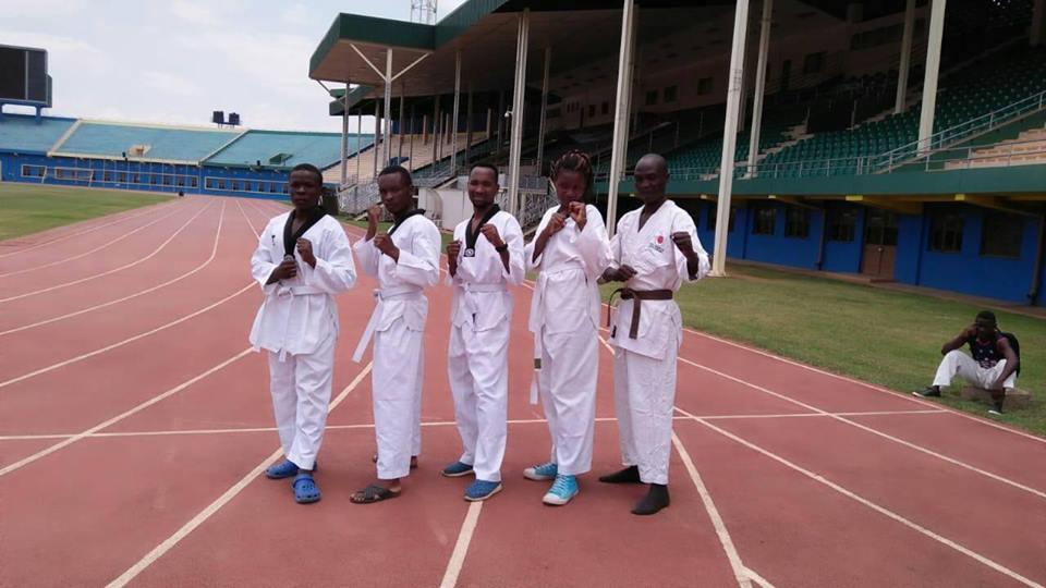 Taekwondo Team Preparation for East African Games