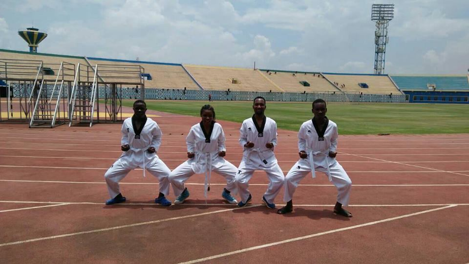 Taekwondo Team Preparation for East African Games