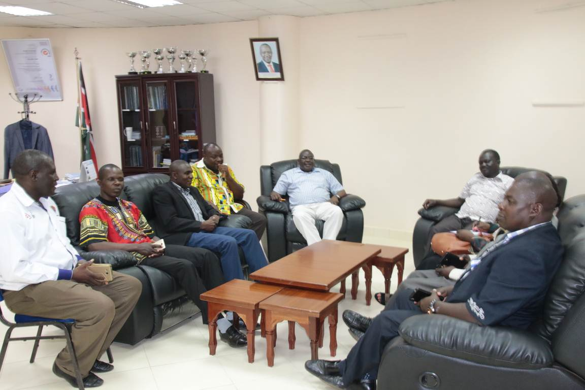 Western Region Drama Officials Pays Courtesy Call to the Vice Chancellor Gallery