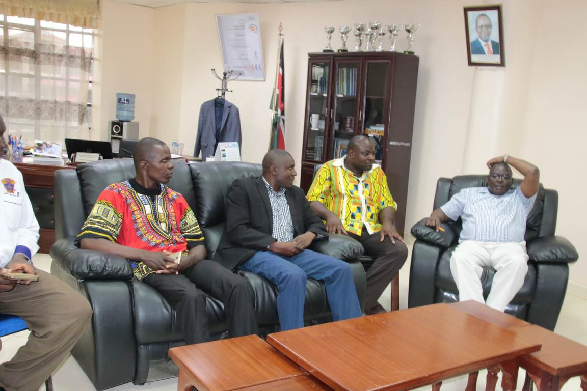 Western Region Drama Officials Pays Courtesy Call to the Vice Chancellor