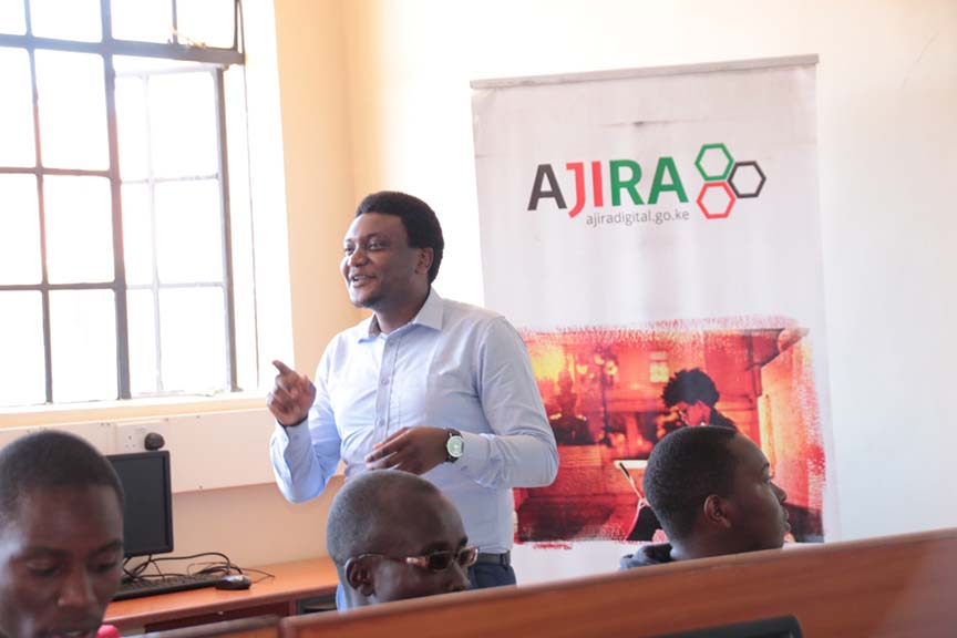 Ajira Training at Kibabii University
