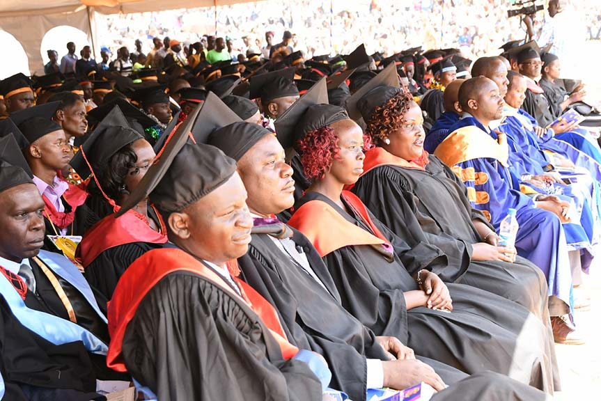 Kibabii University Celebrate 3rd Graduation Ceremony