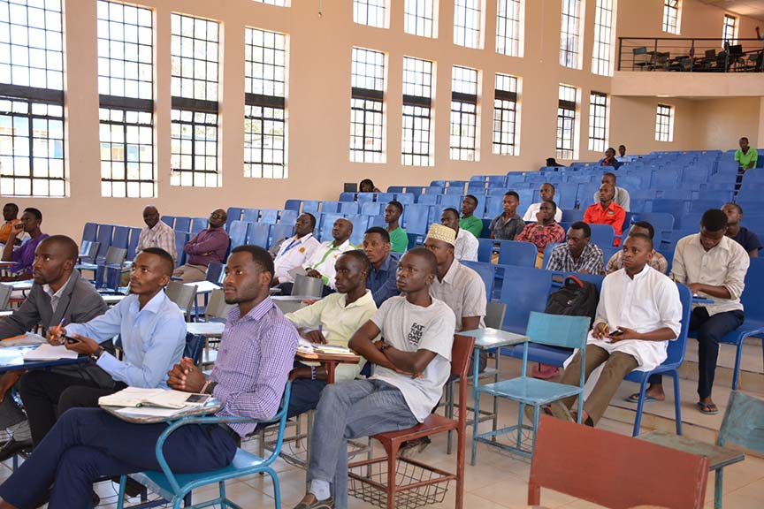 Sensitization Workshop for the ARSO Essay Competition in KIBU