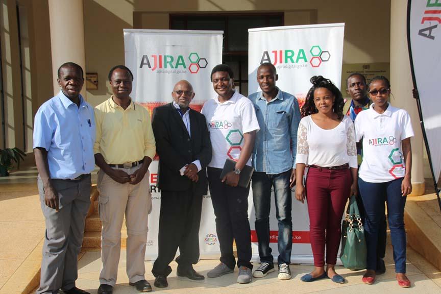 Successful Ajira Training at Kibabii University