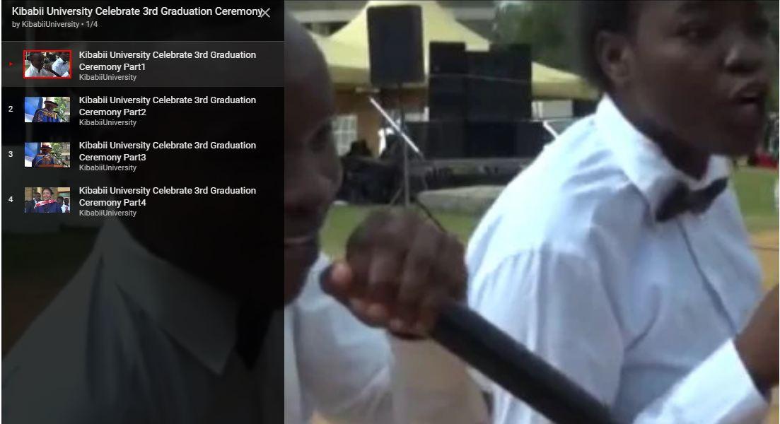 Video: KIBU 3rd Graduation Ceremony