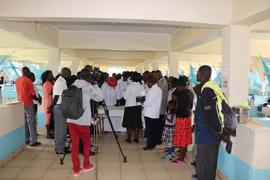 KIBU Community Social Responsibility Outreach at Bungoma Referral Pediatrics Wing