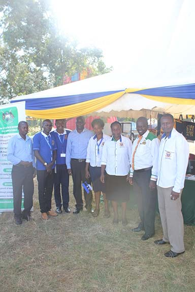 KIBU at the 19th EAC Jua Kali / Nguvu Kazi Exhibition