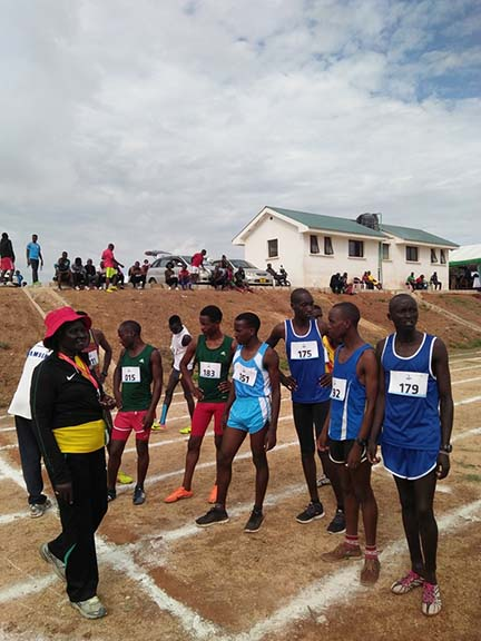 Kibabii University at the East Africa University Games 2018