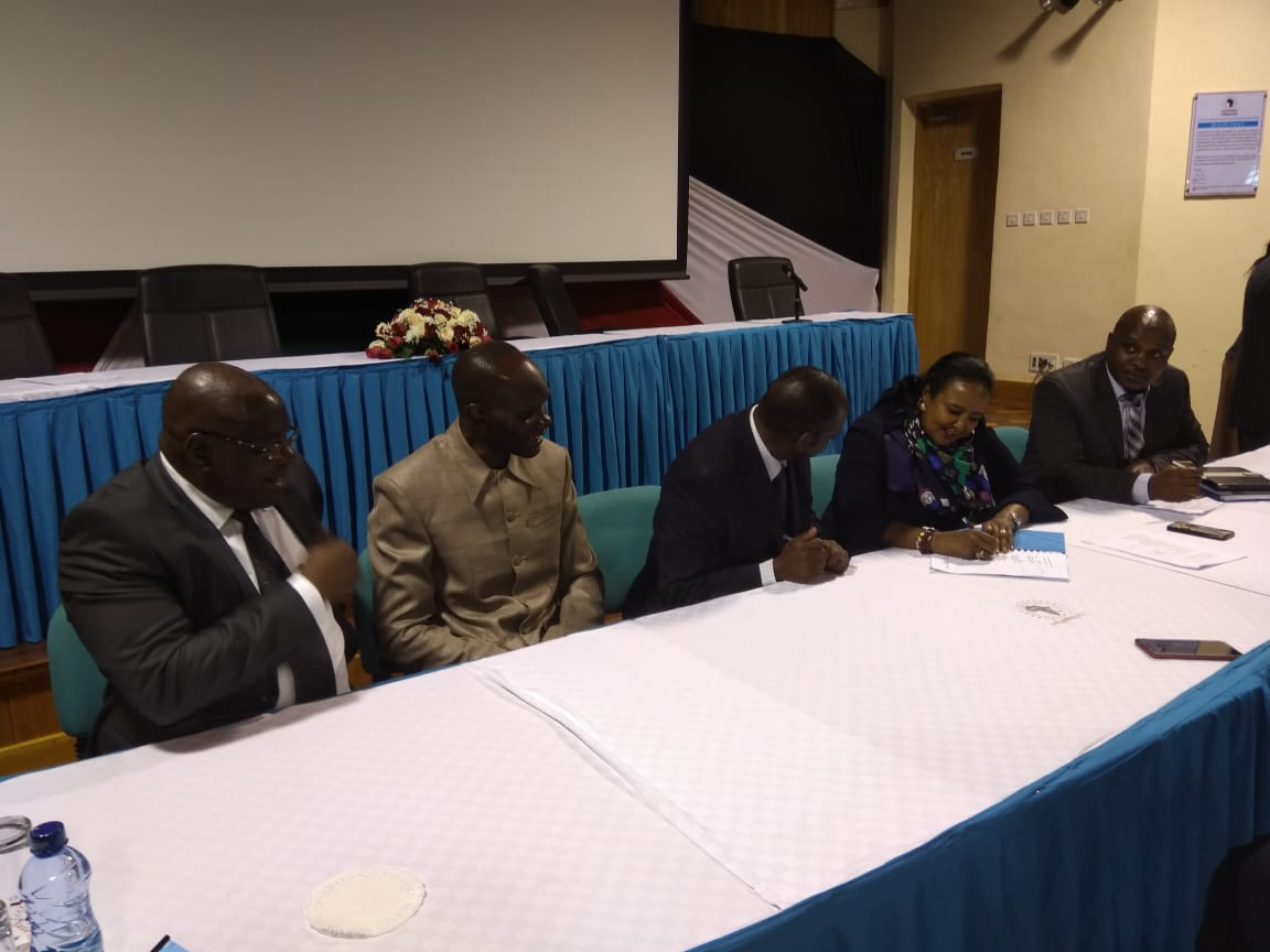 Signing of Performance Contract for 2018/2019 FY between KIBU and Ministry of Education