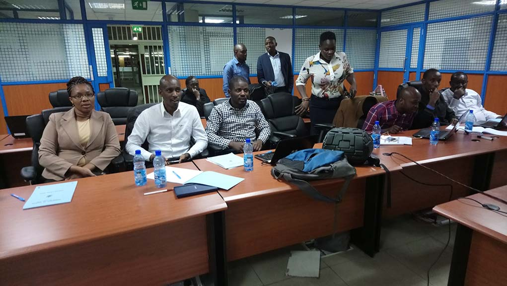 Training for Repository manager and ICT Persons by KLISC/EIFL