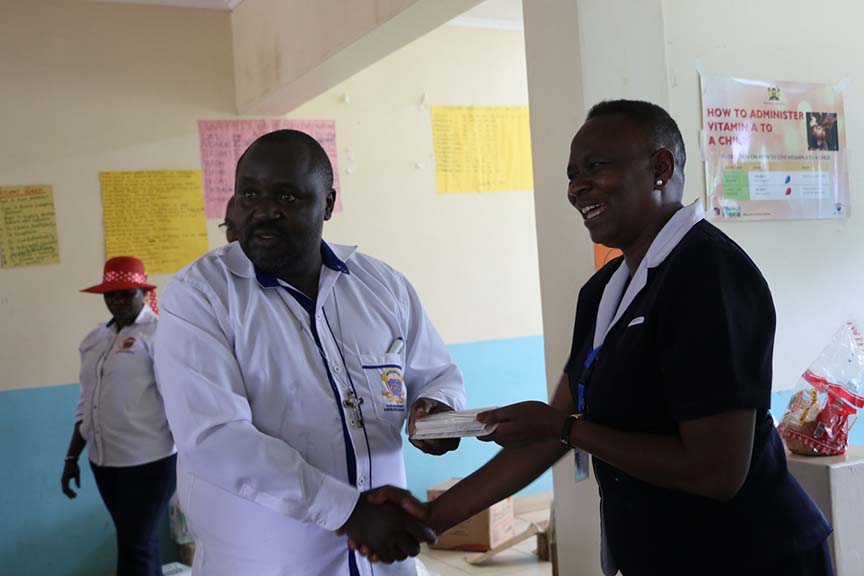 Visit to Bungoma Teaching and Referral Pediatrics Wing Gallery