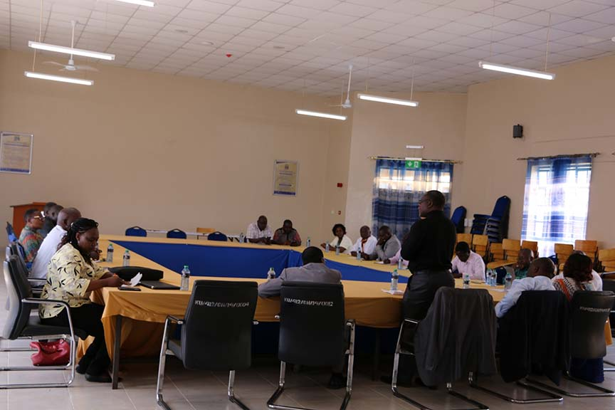 Visit by the KNDFF Technical Committee