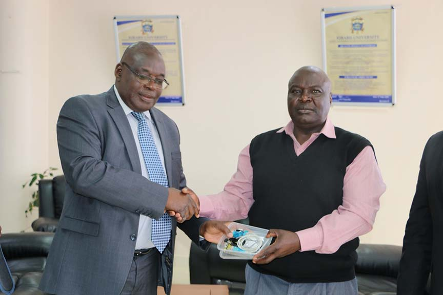 Kibabii University receive donation from Queensland University of Technology