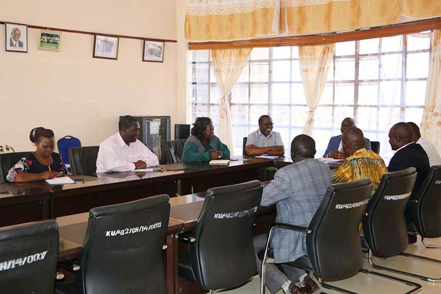 Kenya National Drama and Film Festival Officials Visit KIBU