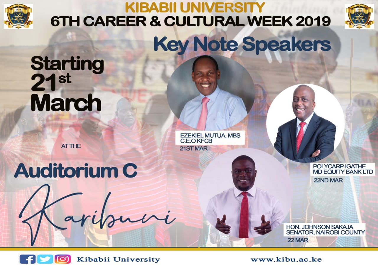 6th Career and Cultural Week