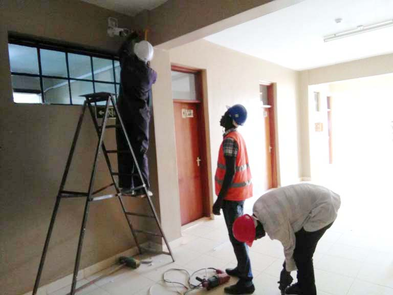 Installation of CCTV at Kibabii University