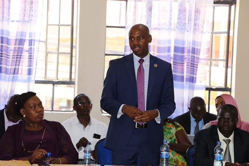 KFCB the Sponsors of the 60th KNDFF Visits Kibabii University