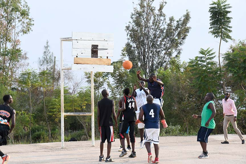 KIBU Staff vs. Students Basketball Game