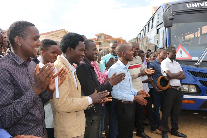 Kibabii University Acquire New Bus Album1