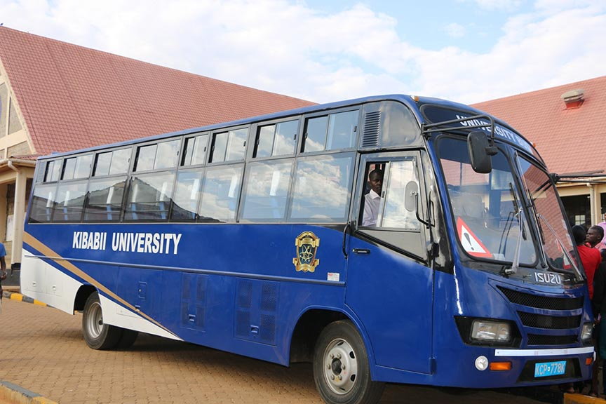 Kibabii University Acquire New Bus Gallery