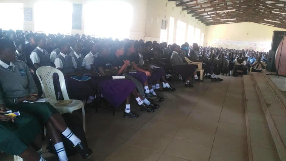 Kibabii University Mentorship Troop at Goseta Boys High School