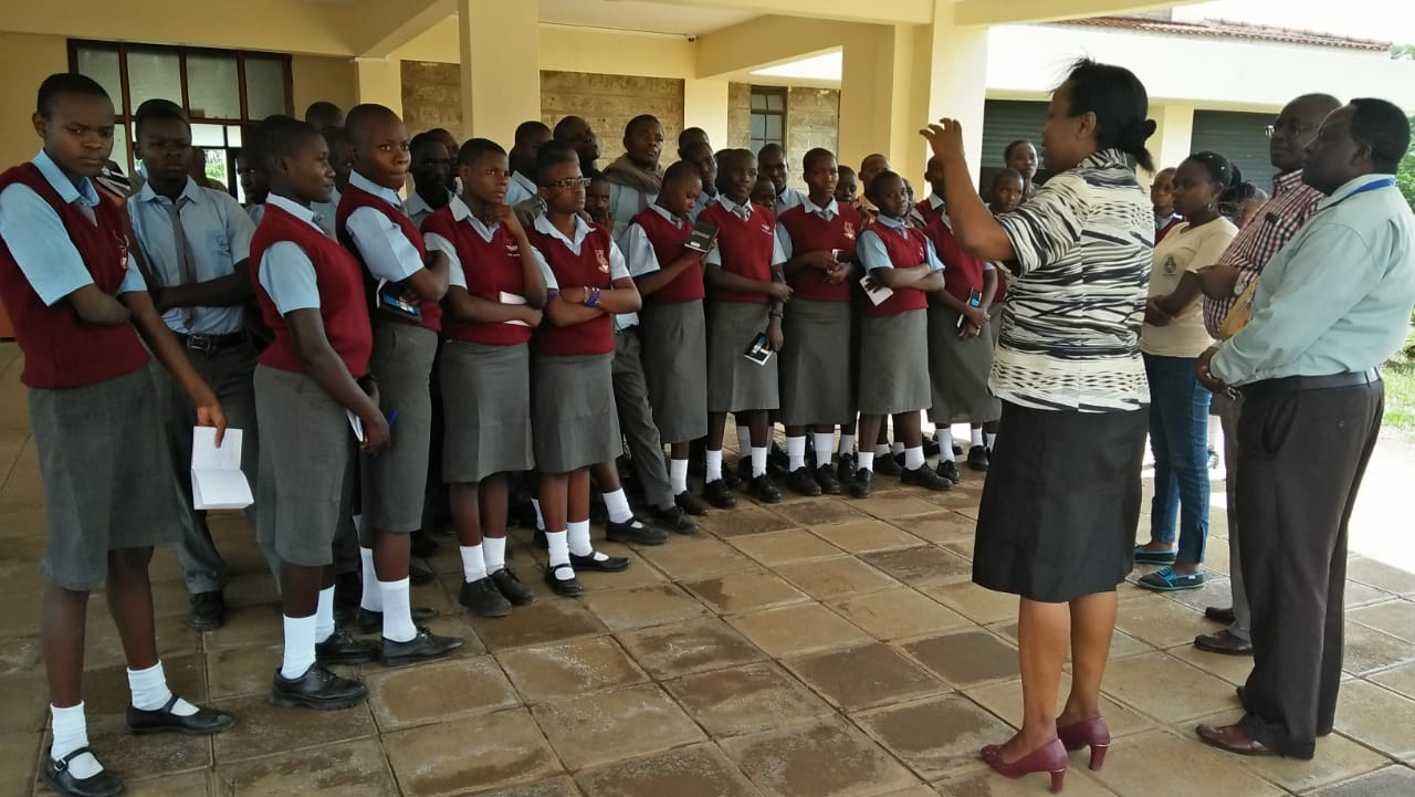 Mentoring Students from St. Paul Emulakha Secondary School