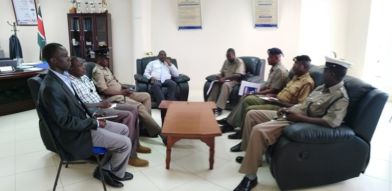 OCPD Bungoma South Visit Kibabii University
