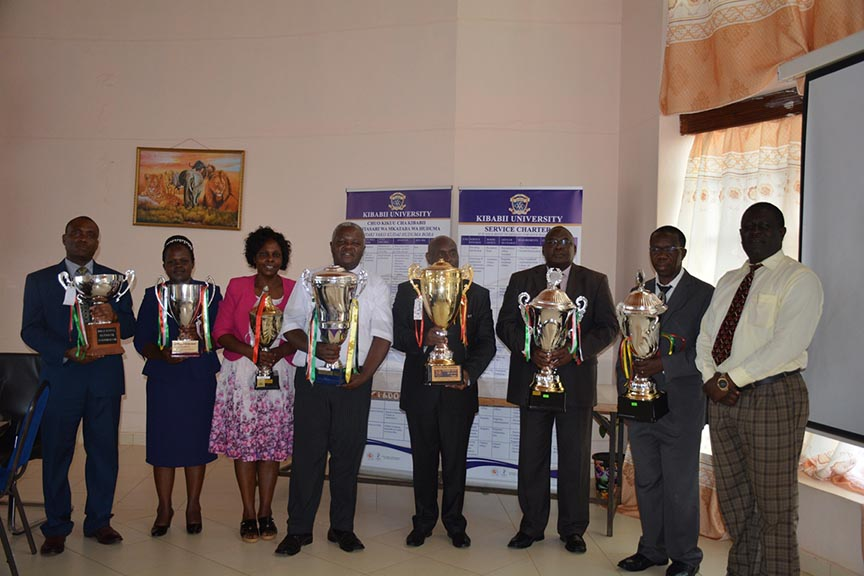 Presentation of 92nd Kenya Music Festival Award Winning Trophies and Certificate Gallery