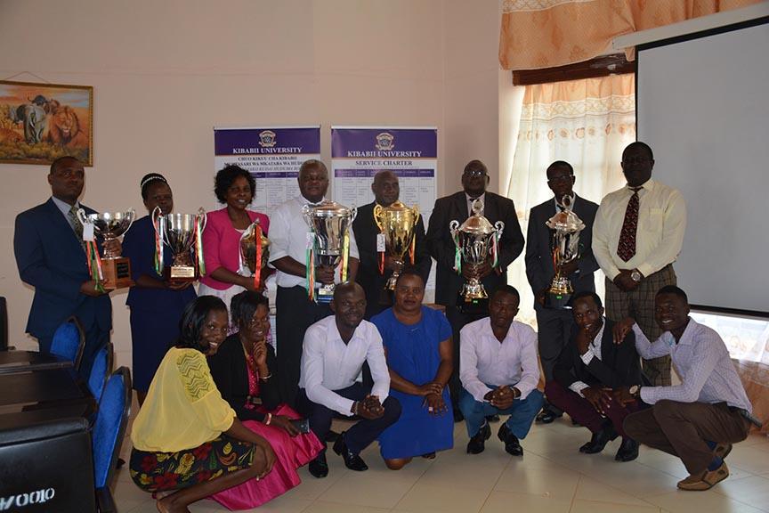Presentation of 92nd Kenya Music Festival Award Winning Trophies and Certificate Album6