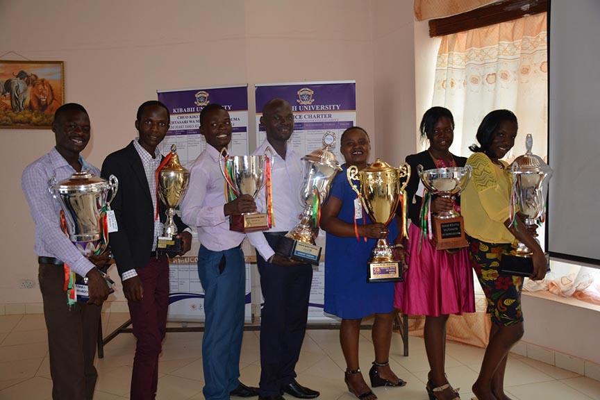 Presentation of 92nd Kenya Music Festival Award Winning Trophies and Certificate Gallery