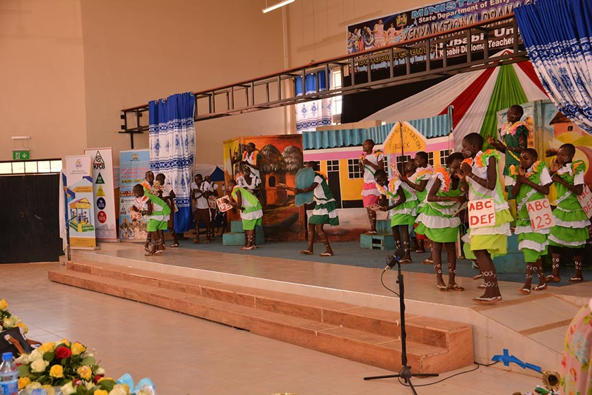 Closing Ceremony of the 60th Kenya National Drama and Film Festival Gala
