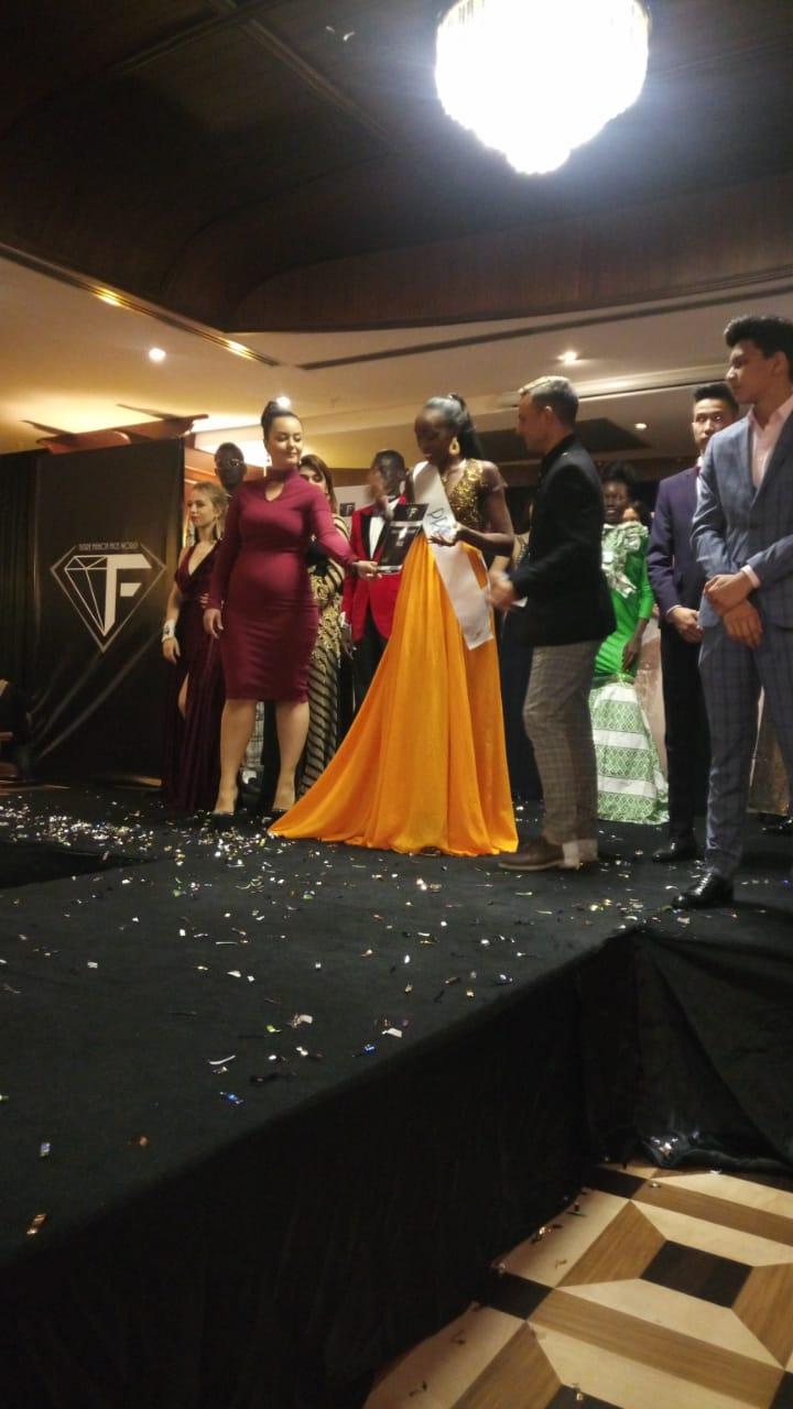 Miss KIBU 2017 Crowned Continental Award Africa Winner