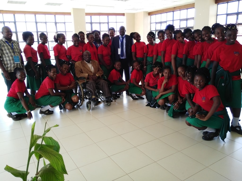 Students from Matuga Girls High School Visit Prof. Ipara Odeo