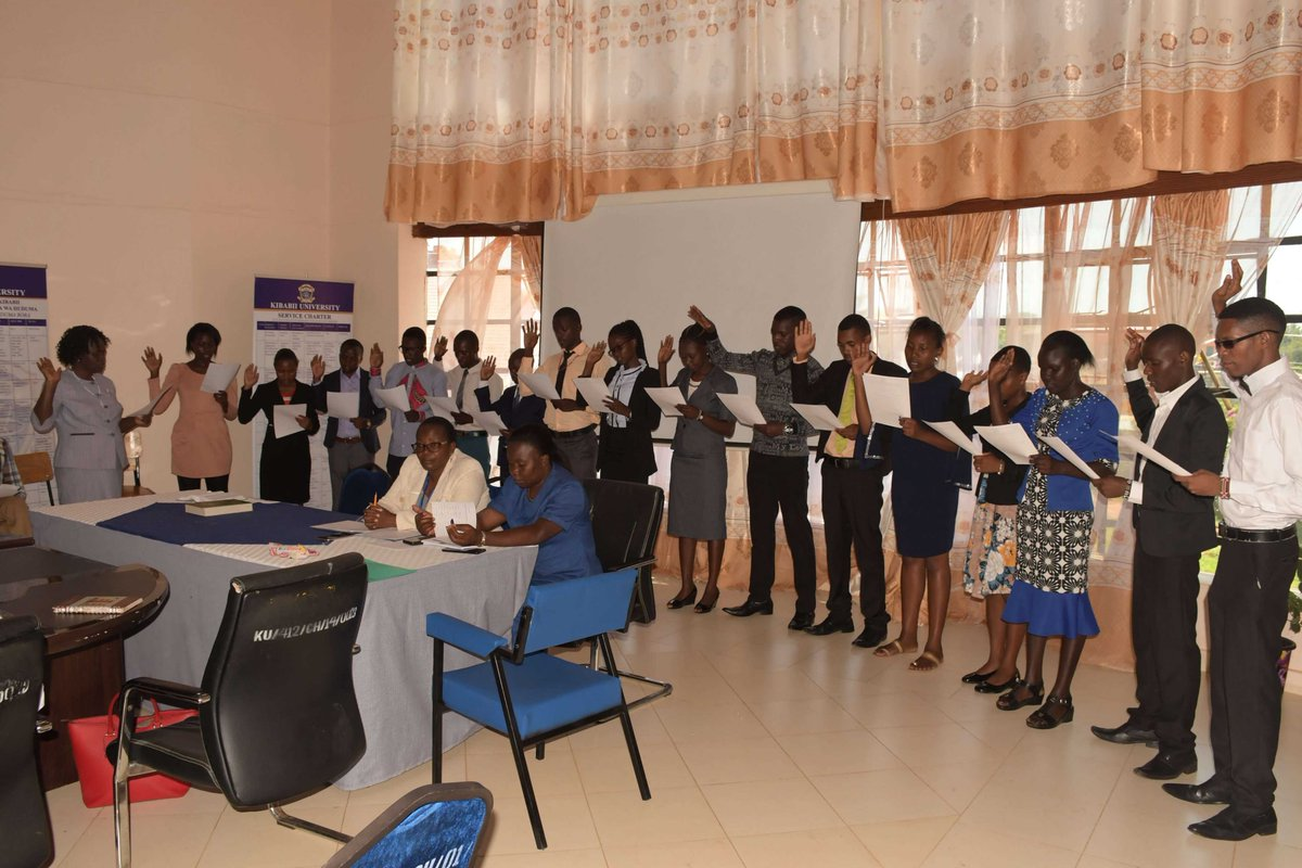Successful Aspirants for the SOKU Student Council 2019/2020 Sworn in