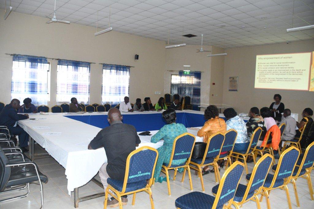 Institute of Gender and Development Studies Gender Mainstreaming Workshop
