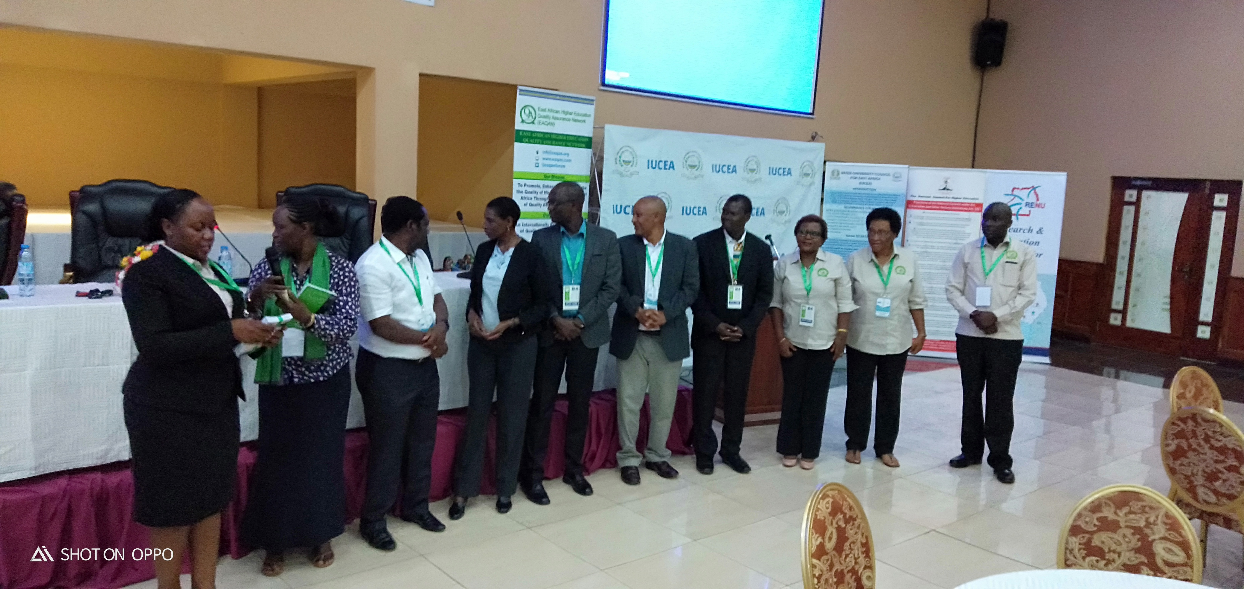 KIBU at the 9th East Africa Quality Assurance Network Forum