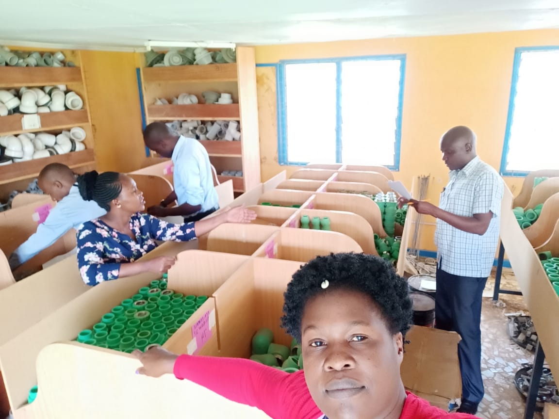 Stock Taking Exercise at the Estates Department for the Closure of Final Accounts for 2018/2019