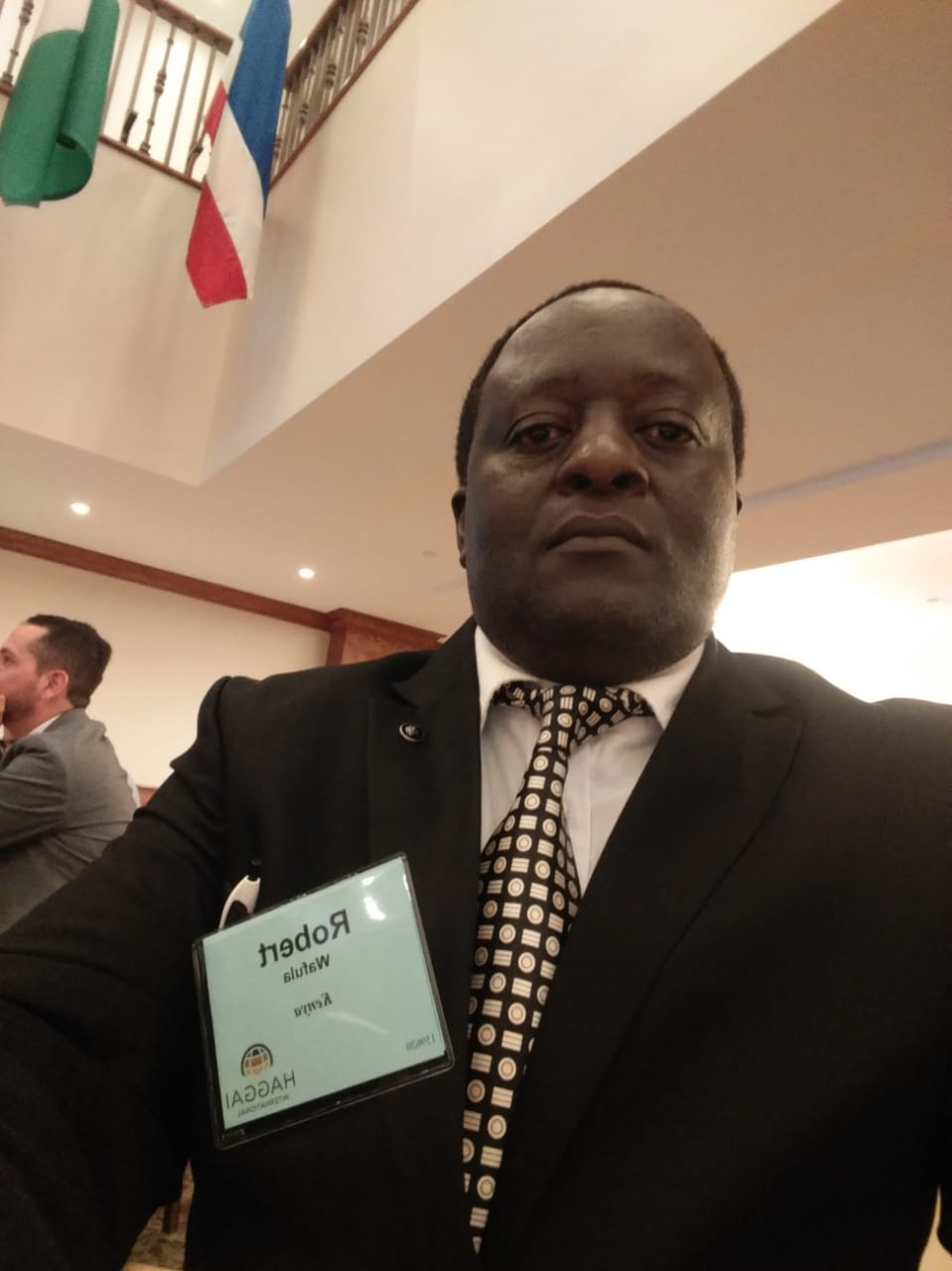 Dr. Robert Wafula at the Leadership and Management Training