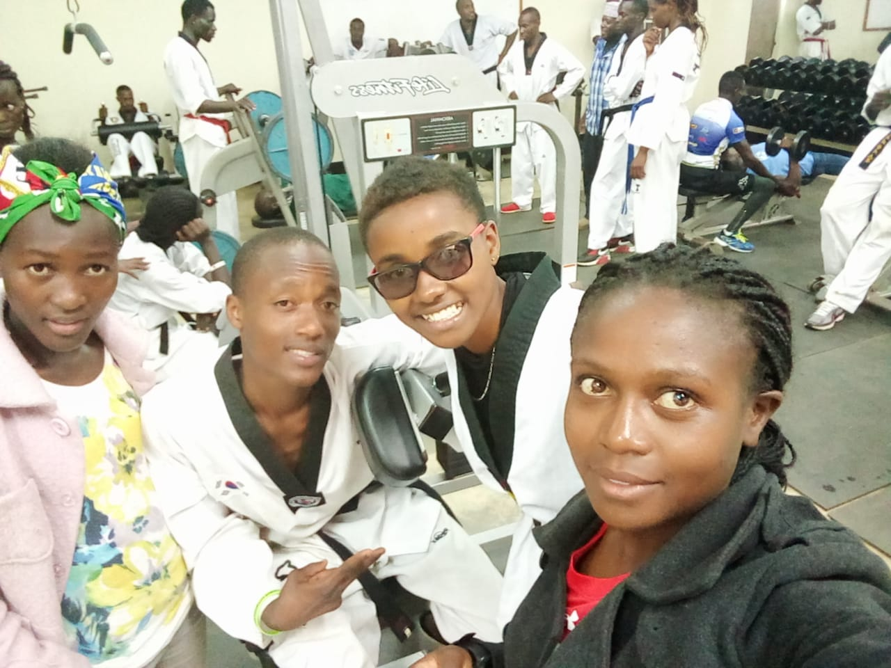 Kibabii University is Hosting Kenya National Taekwondo Training Camp