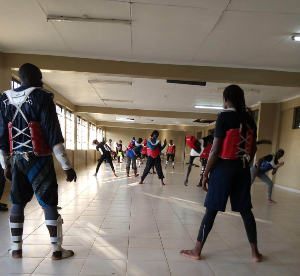Kibabii University is Hosting Kenya National Taekwondo Training Camp