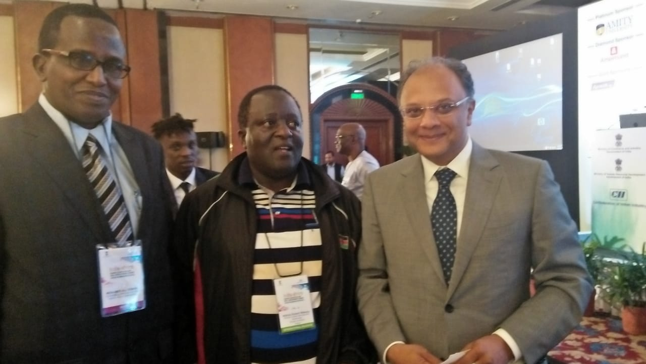 Dr. Robert Wafula at Amity University for Seminar
