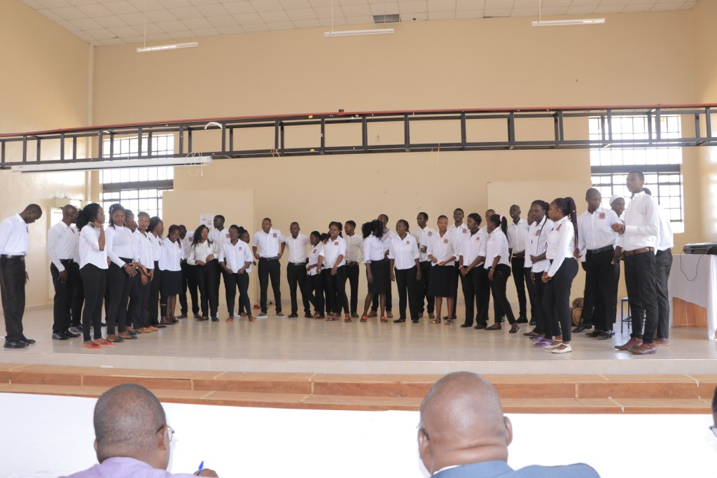 KIBU Choir Rehearsals for the Up-Coming Kenya National Music Festivals 2019