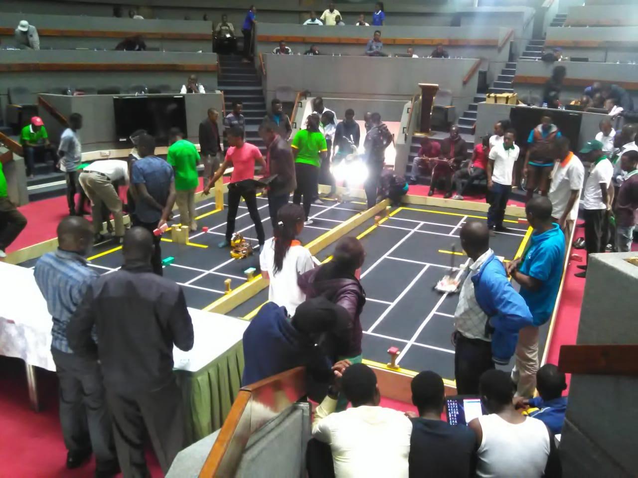 KIBU Computer Science Robotics Team Shone at ROBOKEN 2019