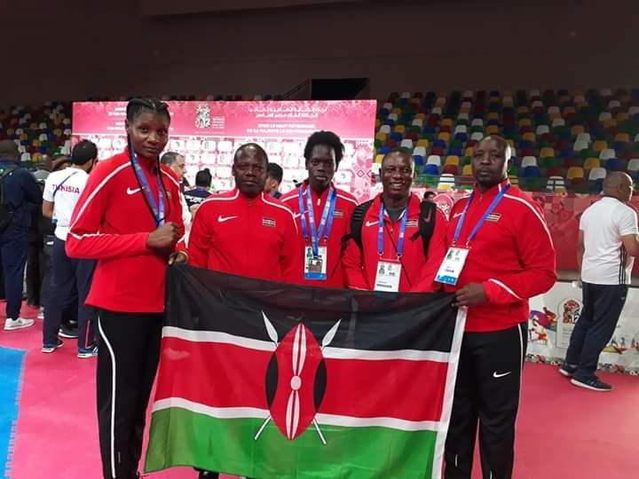 Kibabii University Taekwondo Students Won Silver and Bronze Medals in all African Games