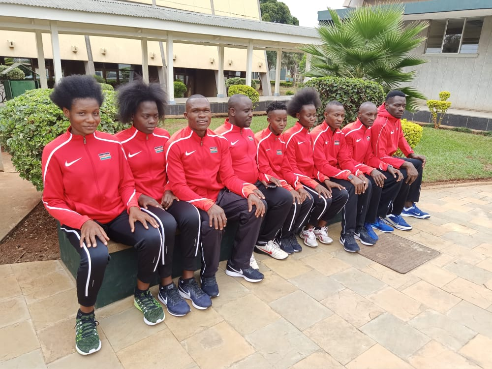 Kibabii University Taekwondo Students representing Kenya in all the African Game